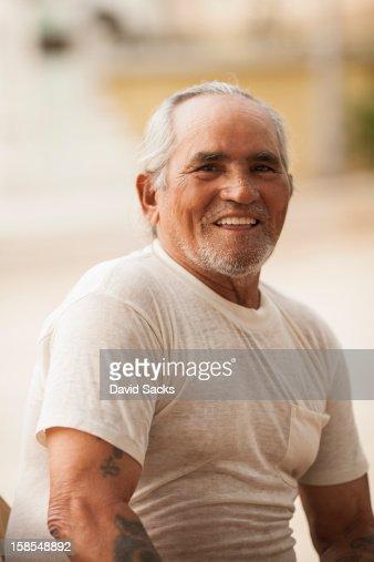 Puerto Rican man portrait : Stock Photo
