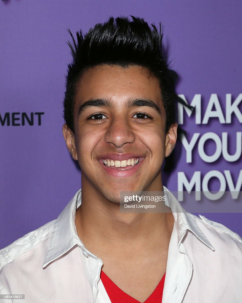 Puerto Rican reggaeton artist Miguelito attends a screening of 'Make Your Move' at Pacific Theatre at The Grove on March 31, 2014 in Los Angeles, California.