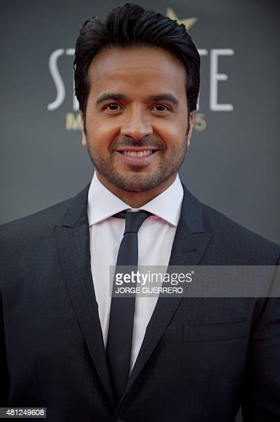 Puerto Rican singer Luis Fonsi poses during a photocall of the the second edition of the IberoAmerican cinema Platino awards in Marbella on July 18...