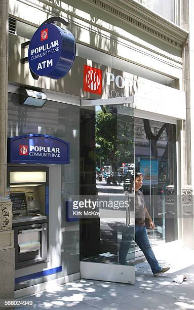 Puerto Rico's biggest bank which opened a branch in the Bronx in 1961 and set up shop in Los Angeles in 1975 hopes to attract new customers by...