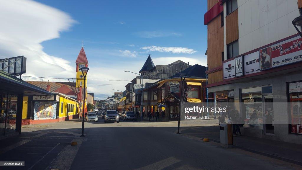 Puerto varas street view : Stock Photo