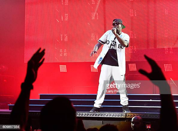 Puff Daddy performs during the Puff Daddy and Bad Boy Family Reunion Tour at Verizon Center on September 22 2016 in Washington DC