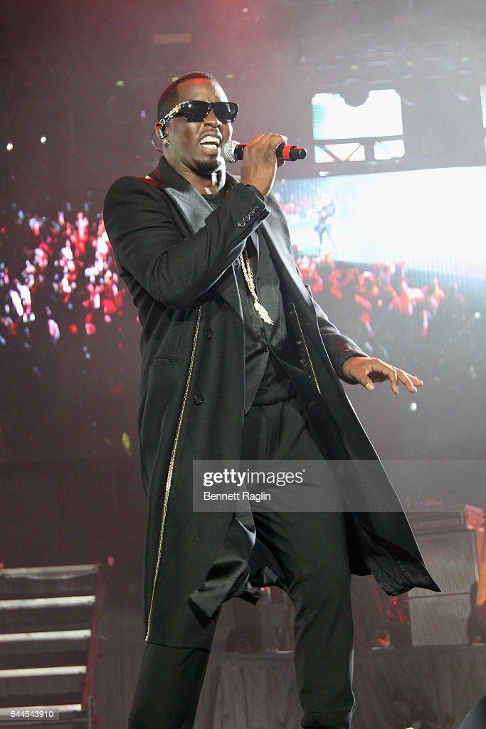 Puff Daddy performs onstage at 2016 ESSENCE Festival Presented by Coca Cola at the Louisiana Superdome on July 3, 2016 in New Orleans, Louisiana.