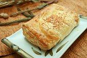 Puff Pastry On Plate
