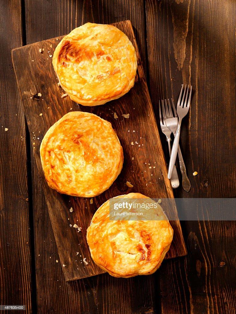Puff Pastry Pot Pie's : Stock Photo