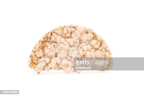 Puffed rice snack. : Stock Photo