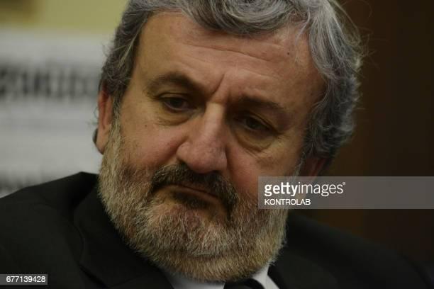 Puglia Governor Michele Emiliano of the democratic party