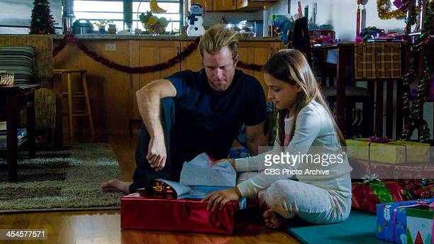 'Pukana' Danny and Grace celebrate Christmas in Hawaii on HAWAII FIVE0 Friday Dec 20 on the CBS Television Network Image is a screen grab