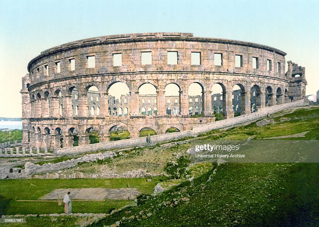Pula the Roman arena Istria AustroHungary in 1900 The Pula Arena is the name of the amphitheatre located in Pula Croatia The Arena is the only...
