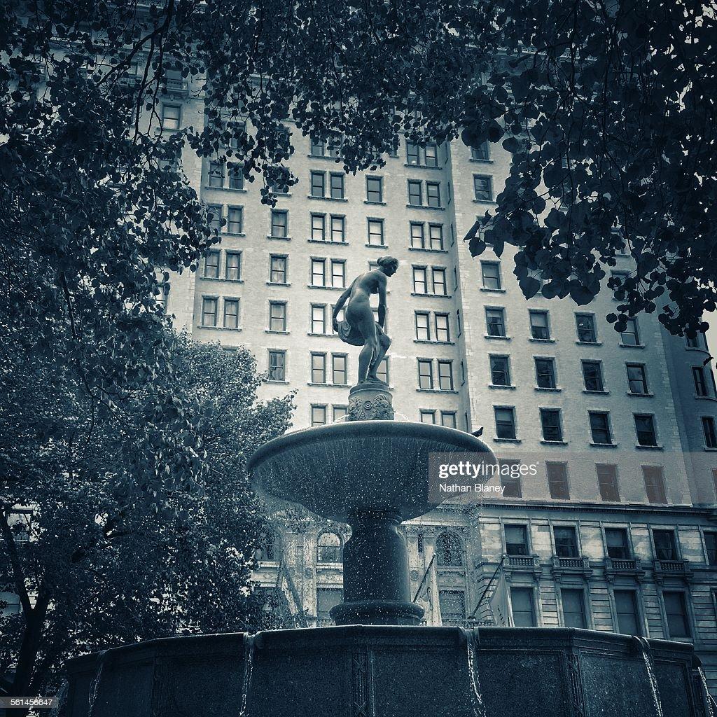 Pulitzer Fountain : Stock Photo