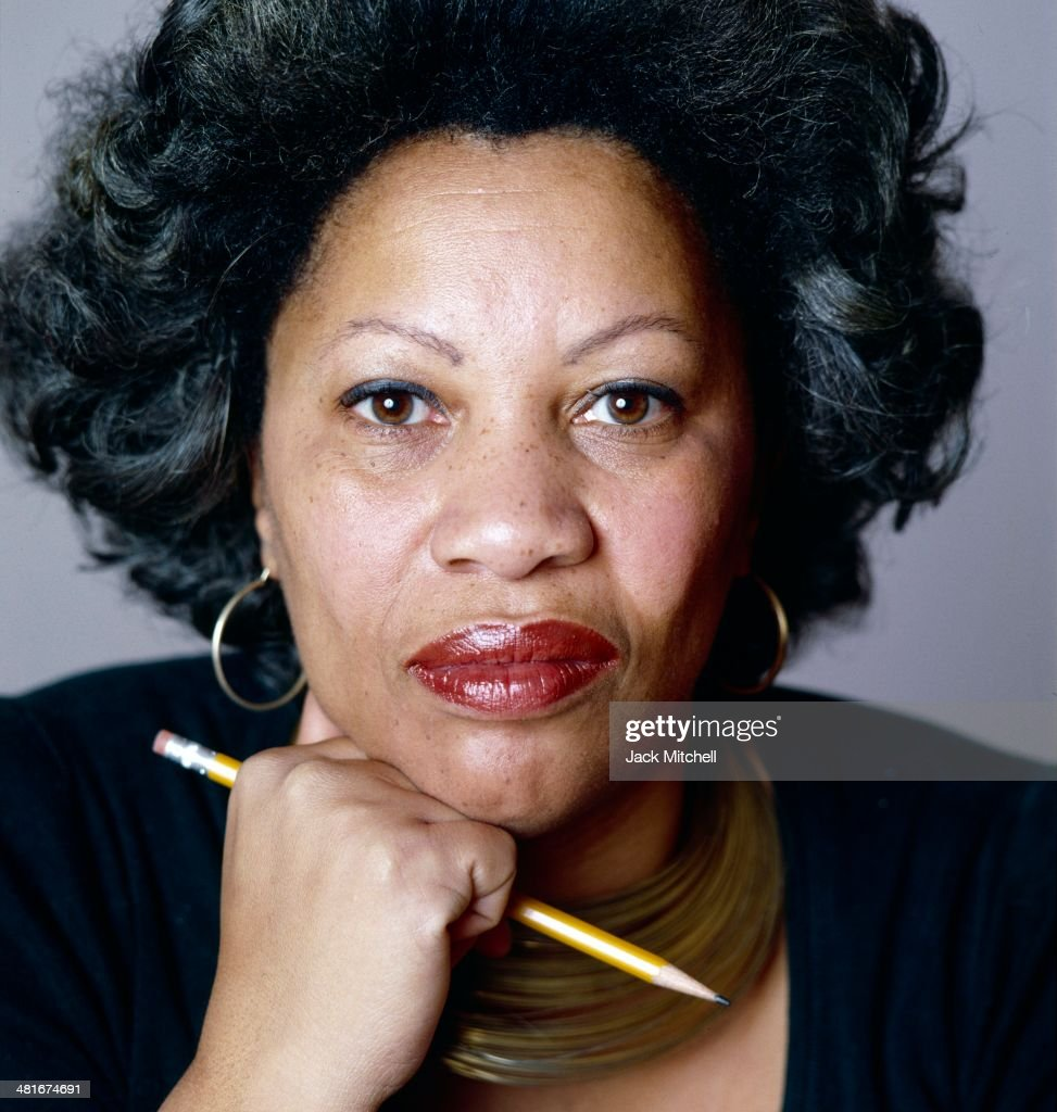 Pulitzer Prize-winning author <a gi-track='captionPersonalityLinkClicked' href=/galleries/search?phrase=Toni+Morrison&family=editorial&specificpeople=213946 ng-click='$event.stopPropagation()'>Toni Morrison</a> photographed in New York City in 1979.