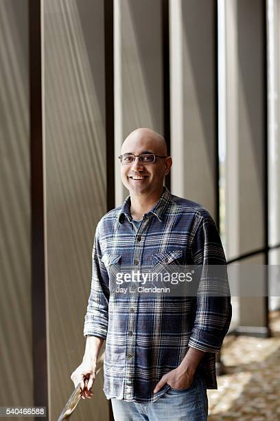 Pulitzer Prizewinning playwright Ayad Akhtar is photographed for Los Angeles Times on May 23 2016 in Los Angeles California PUBLISHED IMAGE CREDIT...