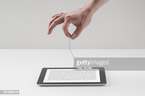 Pull binary data out of digital tablet