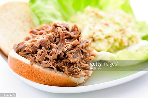 Schweinefleisch und Cole-Krautsalat
