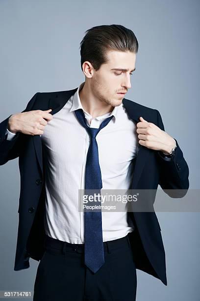 Pulling off the gentleman look