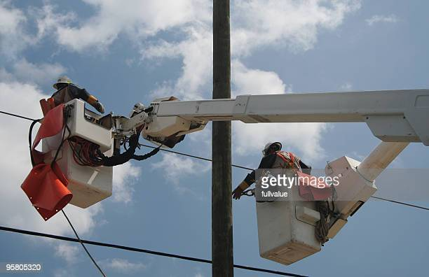 Pulling the Power Lines
