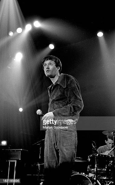 Pulp perform on stage at The Town and Country Club Kentish Town United Kingdom 1991