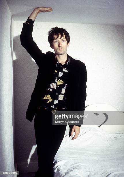 Pulp singer Jarvis Cocker portrait London United Kingdom 1991