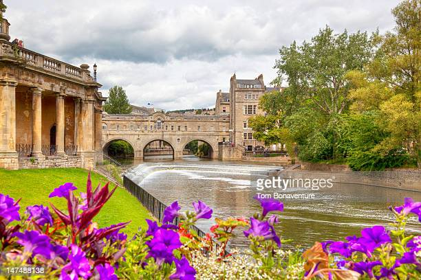 Pulteney Bridge and the River Avon in Bath