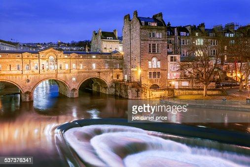 Pulteney Bridge, Bath, Somerset, England