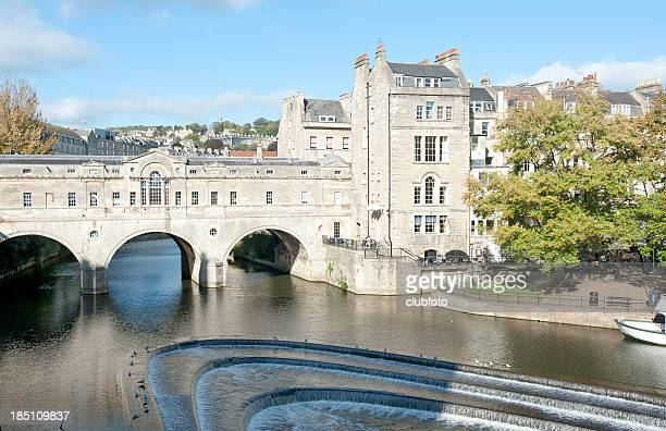 Pulteney Bridge in Bath, Somerset, UK