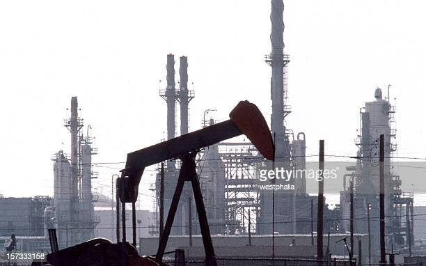Pumpjack and Refinery