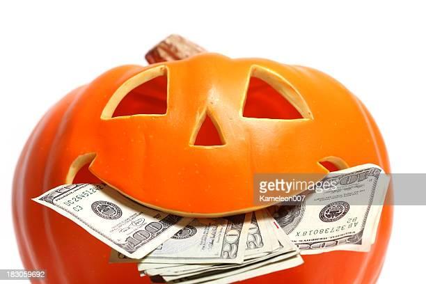 Pumpkin and corn candy