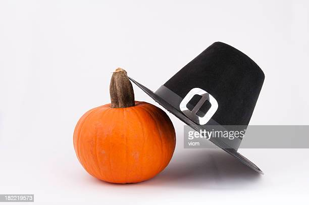 Pumpkin and Puritan Hat