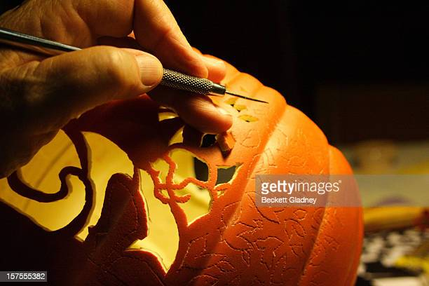 Pumpkin Carving Technique