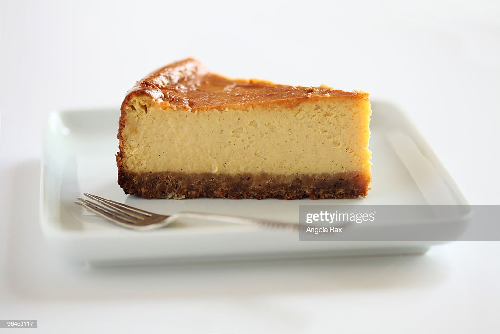 Pumpkin cheesecake : Stock Photo