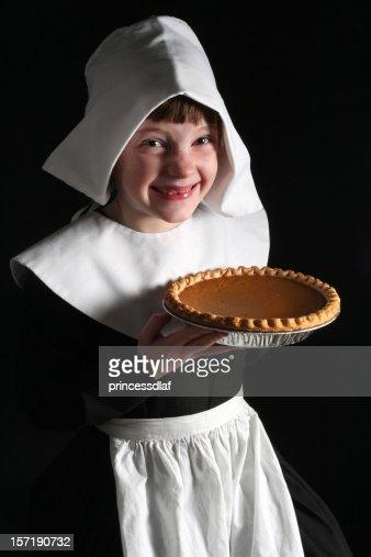 Pumpkin Pie Pilgrim