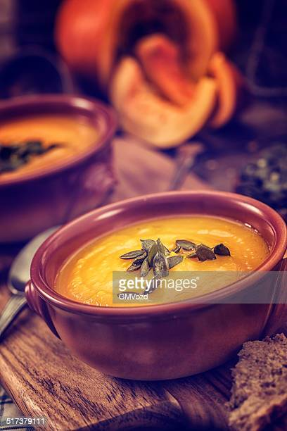 Pumpkin Soup for Autumn Days