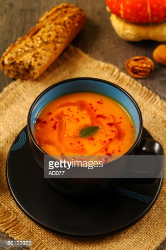 Pumpkin soup : Stock Photo