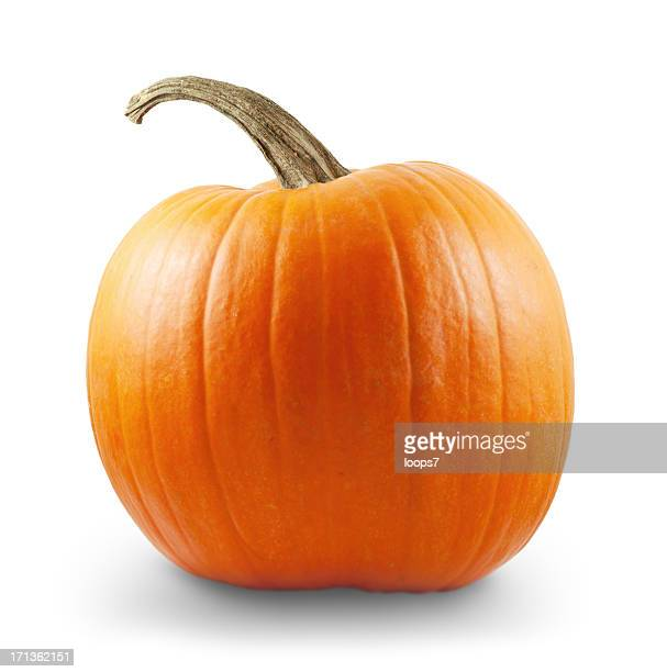 Pumpkin with clipping path