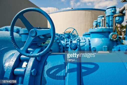 Pumps Used to Transfer Fresh Water at Public Utility