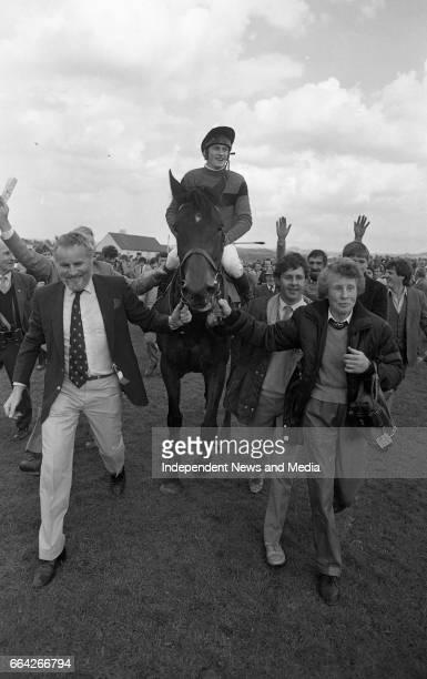 Punchestown Racecourse Punchestown Dublin circa April 1986