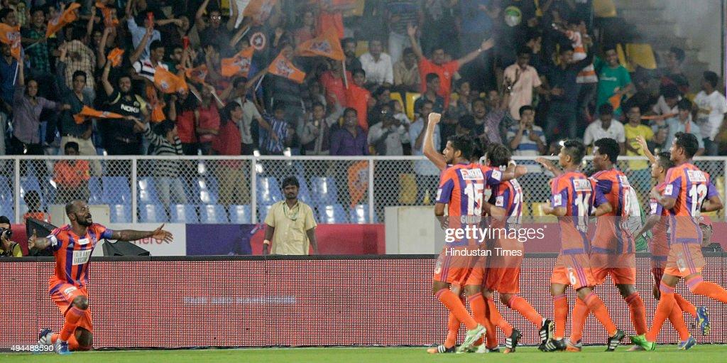 Hero Indian Super League 2015: FC Pune City Vs Kerala Blasters : News Photo
