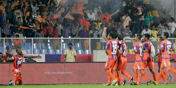 Hero Indian Super League 2015: FC Pune City Vs Kerala Blasters : News Photo