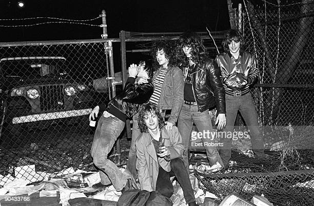 Punk Band DMZ at CBGB's in New York City on April 81978