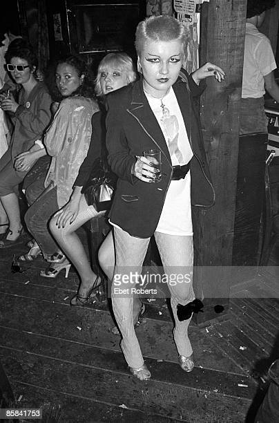 S Photo of PUNKS Punk Girl at CBGB's