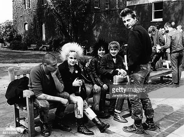 Punks gathered at King's Road in London 1979