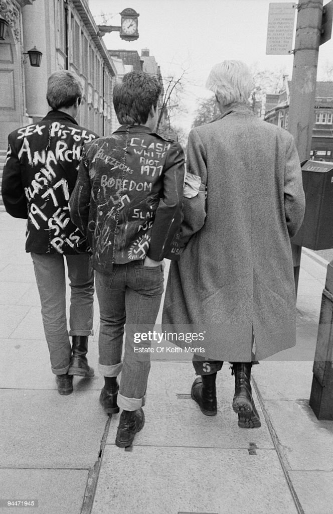 Punks on the King's Road in London's Chelsea, 1977.