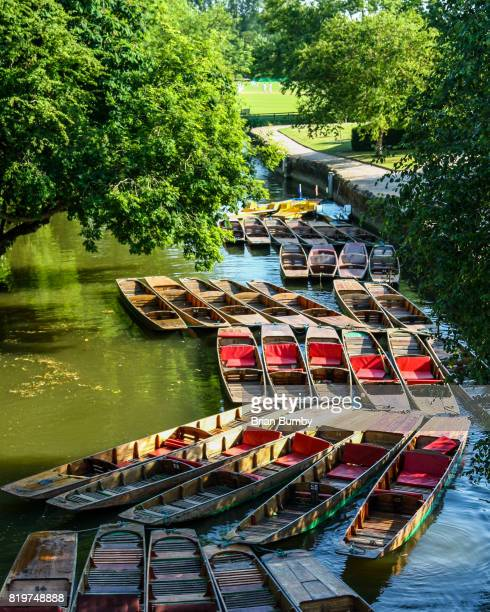 Punting on the Isis at Oxford University