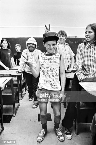 Pupils celebrate the last day of school at William King Elementary in the Appalachian town of Abingdon in Southwest Virginia 5104602RA_Appalachia56jpg