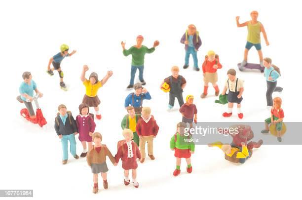 Schüler-Schülerfiguren Toy