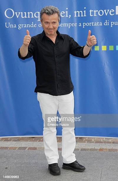 Pupo attends the Palinsesti Rai photocall at Cavalieri Hilton Hotel on June 20 2012 in Rome Italy
