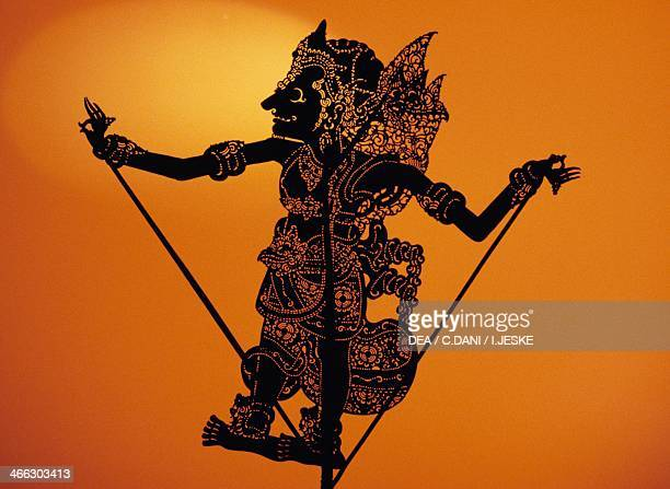 Puppet Theatre of Shadows Java Indonesia