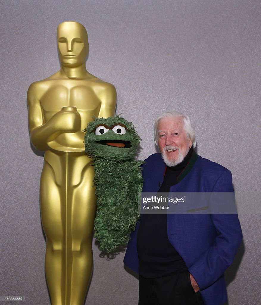 Puppeteer and Cartoonist <a gi-track='captionPersonalityLinkClicked' href=/galleries/search?phrase=Caroll+Spinney&family=editorial&specificpeople=653956 ng-click='$event.stopPropagation()'>Caroll Spinney</a> attends The Academy Of Motion Picture Arts And Sciences Hosts An Official Academy Screening Of