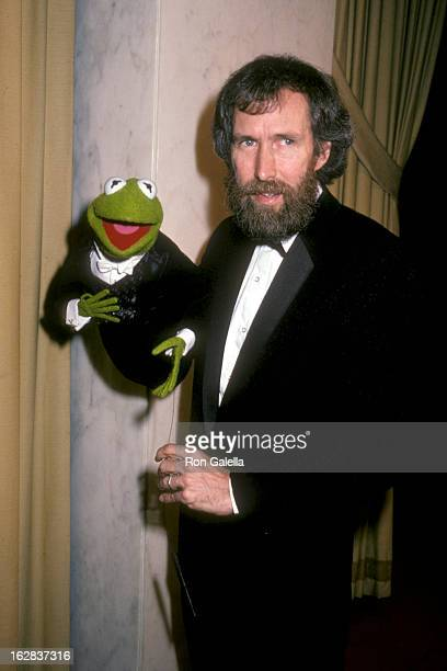 Puppeteer Jim Henson attends Career Achievement Awards on March 13 1983 at the Beverly Wilshire Hotel in Beverly Hills California