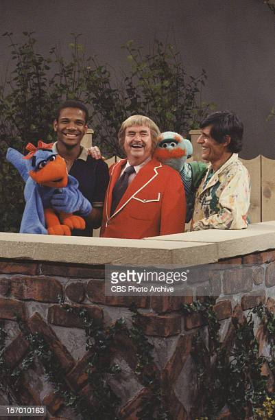 KANGAROO Puppeteer Kevin Clash left Bob Keeshan is center and puppeteer Gus Allegretti Image dated October 1978